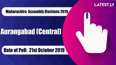 Aurangabad (Central) Vidhan Sabha Constituency Election Result 2019 in Maharashtra: Jaiswal Pradeep Shivnarayan of Shiv Sena Wins MLA Seat in Assembly Polls