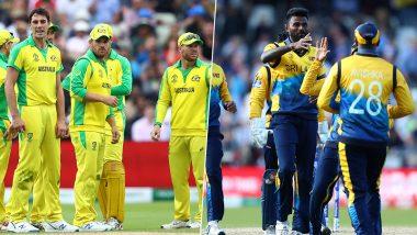 Live Cricket Streaming of Australia vs Sri Lanka 1st T20I 2019 Match on Sony Six: Watch Free Telecast and Live Score of AUS vs SL T20I Series