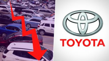 Auto Sector Crisis: Toyota Becomes 4th Company After General Motors, Hero MotoCorp and Ashok Leyland to Launch VRS For Permanent Employees During Festive Season