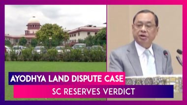 """Enough Is Enough,"" Ayodhya Land Dispute Case Hearing To End Today, Says CJI Ranjan Gogoi"
