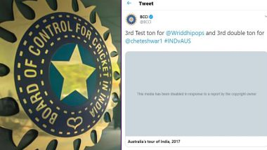 BCCI Trolled by Netizens After Their Old Twitter Video of India vs Australia 2017 Match Faces Copyright Issues