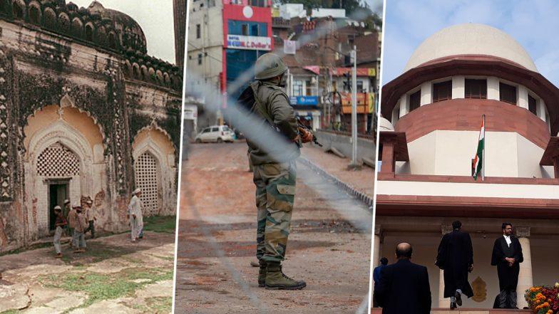 Ayodhya Verdict: Timeline of Ramjanmabhoomi-Babri Masjid Land Dispute