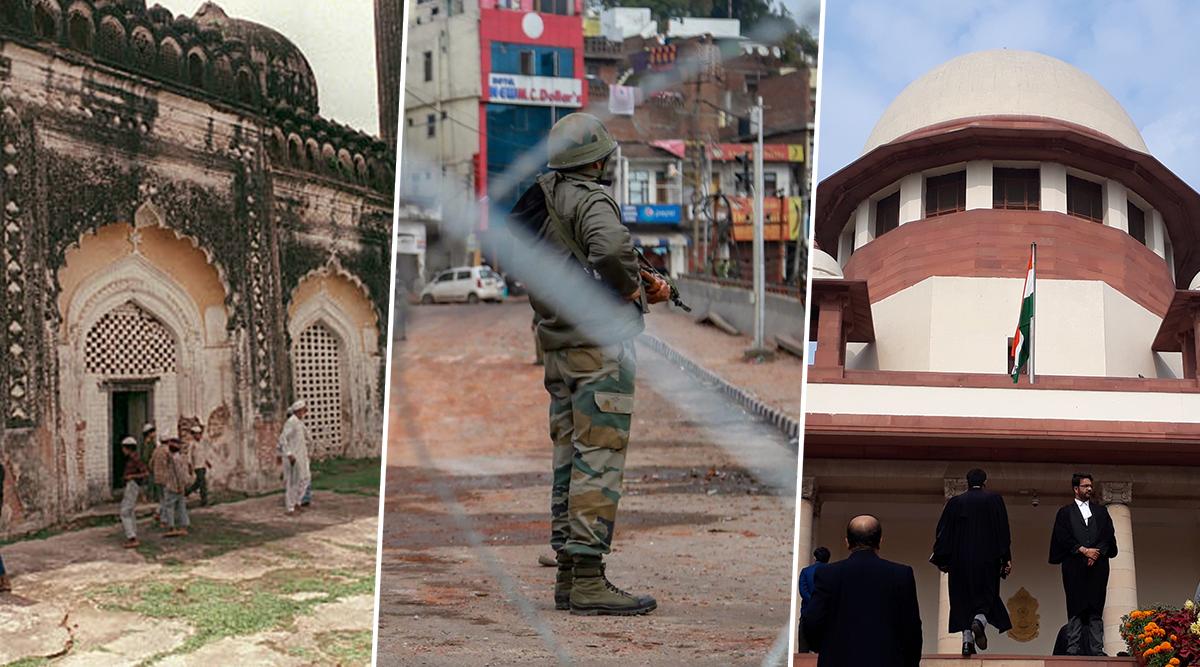 Ram Janambhoomi-Babri Masjid Case: Section 144 Imposed in Ayodhya Ahead of Supreme Court Hearing