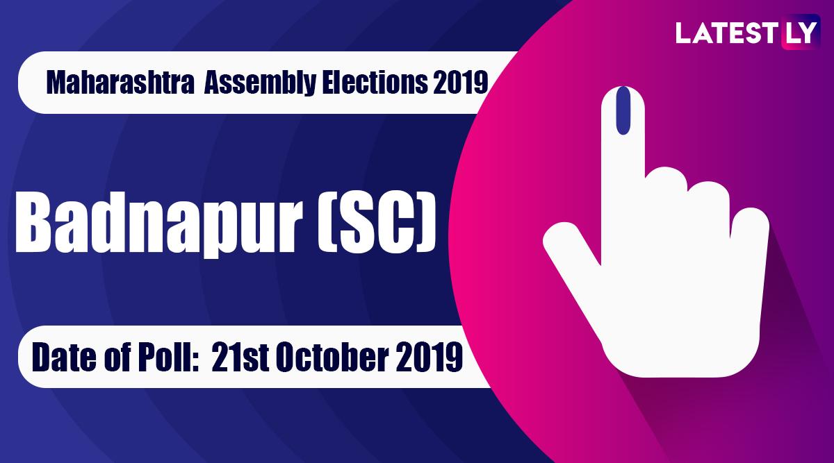 Badnapur (SC) Vidhan Sabha Constituency Election Result 2019 in Maharashtra: Kuche Narayan Tilakchand of BJP Wins MLA Seat in Assembly Polls