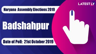 Badshahpur Vidhan Sabha Constituency Election Result 2019 in Haryana: Independent Candidate Rakesh Daultabad Wins MLA Seat in Assembly Polls