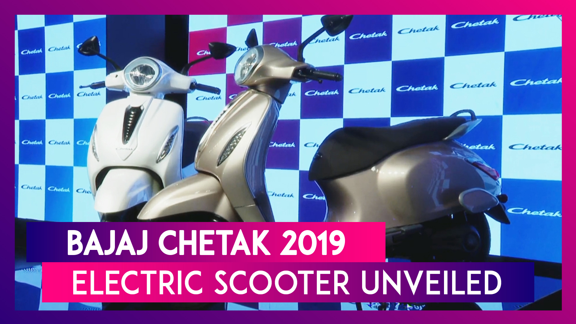 Bajaj Chetak Electric Scooter Launched India; Check Features & Specifications of Bajaj's New EV