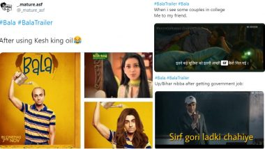 Bala Movie Trailer Funny Memes Are the Best Medicine If You Need a Laugh, Even Ayushmann Khurrana Would Agree!
