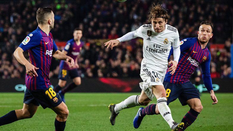 'El Clasico' Between Barcelona and Real Madrid Postponed ...