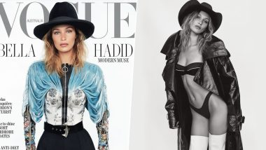 Bella Hadid Flaunts Her Natural Beauty on the Cover of Vogue Australia's November 2019 Issue