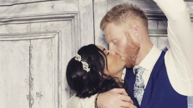 Ben Stokes and Wife Clare Ratcliffe Celebrate 2nd Wedding Anniversary, Share a Romantic Kissing Picture on Instagram!
