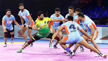 DEL vs BEN, PKL 2019 Final: Here's Look at Last 5 Match Results of Bengal Warriors in VIVO Pro Kabaddi League Season 7
