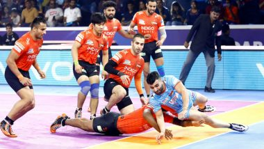 PKL 7 Match Report: Bengal Warriors Pip U Mumba 37-35 to Enter Final