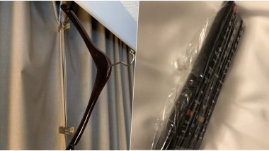 Best Hotel Room Hacks: Man Shows How to User Hanger to Clip Curtains; Netizens Share More Useful Tricks For Hotel Stays