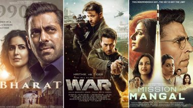 War Box Office Collection Day 1: Hrithik Roshan-Tiger Shroff Starrer BEATS Salman Khan's Bharat and Akshay Kumar's Mission Mangal