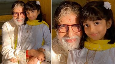 Aishwarya Rai Shares Adorable Pic of 'Dadaji' Big B with Aaradhya