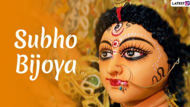 Subho Bijoya 2020! Twitter Shares Wishes, Greetings, HD Maa Durga Images to Celebrate Goddess' Victory over Mahishasura on Vijayadashami