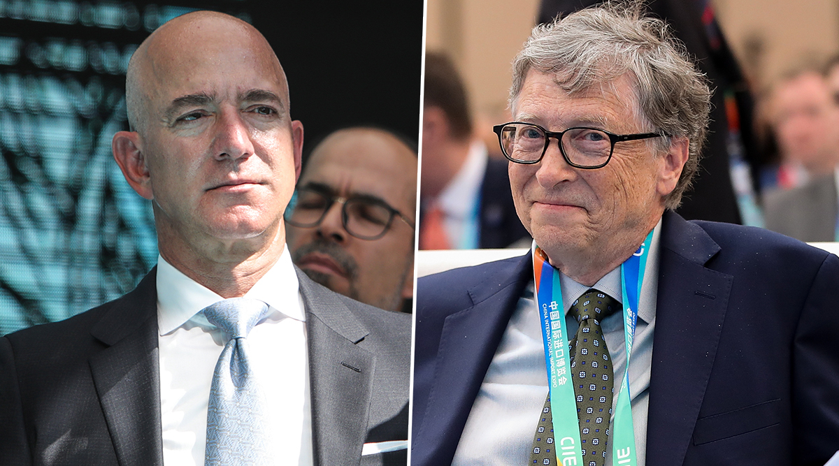 Forbes World's Richest List 2019: Jeff Bezos Claims 'World Number One' Title Day After Slipping to Second Spot Behind Bill Gates