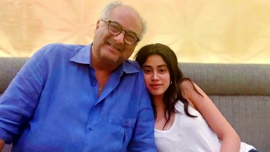 Bombay Girl: Janhvi Kapoor All Set to Team Up With Father Boney Kapoor for a Coming-of-Age Tale