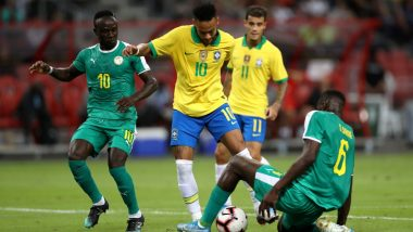 Brazil vs Senegal, International Friendly 2019 Goal Video Highlights: Neymar Scripts History As Match Ends in a Draw