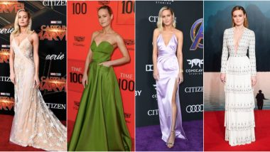 Brie Larson Birthday Special: 5 Times the Avengers Endgame Star Made Us Marvel at Her Fashion Choices