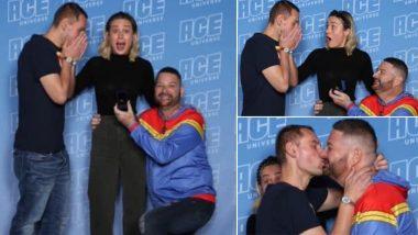 Brie Larson Has the Cutest Reaction to a Gay Couple Getting Engaged at Her Meet and Greet and Twitter Is Loving It! (View Pics)