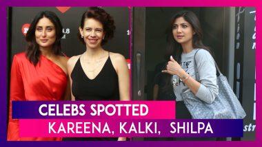 Kareena Kapoor, Amitabh Bachchan, Shilpa Shetty Kundra, Diana Penty & Others Spotted In The City