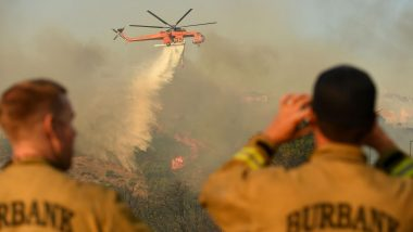 California: Saddleridge Fire Destroys Homes And Structures, One Lakh People Evacuated