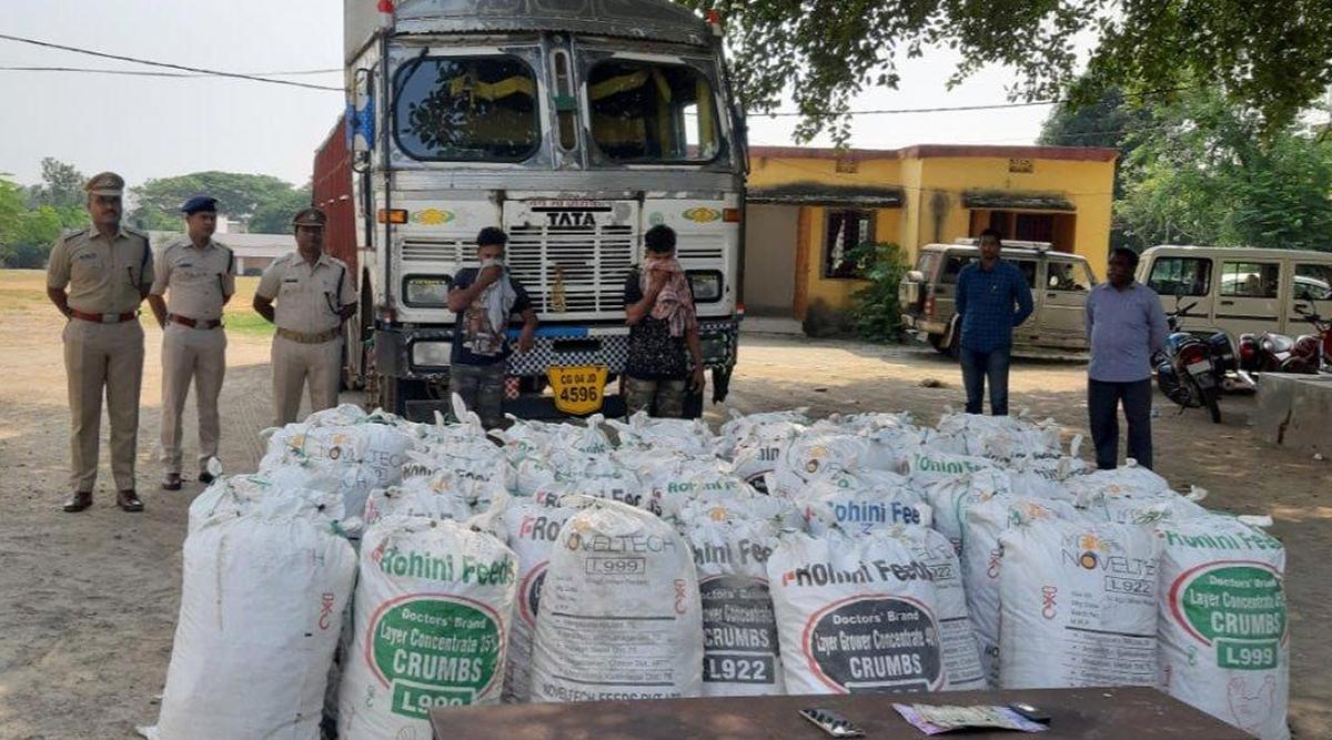 Cannabis Seized in Odisha's Malkangiri, 2 Suspects Arrested With 1500 KG Ganja