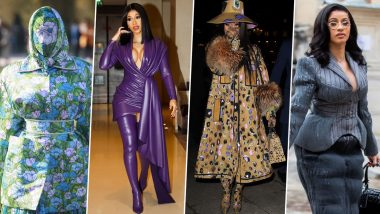 Cardi B's Outfit Choices at the Paris Fashion Week 2019 Make Us Go 'Uhhh…' (View Pics)