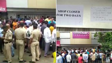 Goodwin Jewellers Dupes Investors? All Stores in Mumbai and Pune Shut, Owners Booked For 'Fraud' After Dozens Stage Protest in Thane