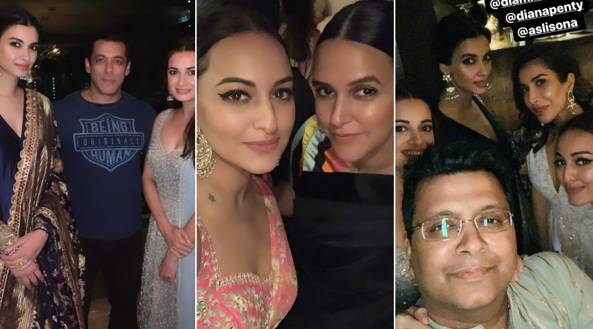 Salman Khan, Sonakshi Sinha, Neha Dhupia and Other Celebs Attend Ramesh Taurani's Diwali 2019 Bash (View Inside Pics)