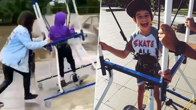 Cerebral Palsy Kid Skateboards For The First Time, Mom Reveals How She Fulfilled His Dream After Little Boy Becomes Internet Sensation!