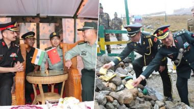 China Celebrates 70th National Day, Indian Army Holds Ceremonial Border Personnel Meetings With Chinese Troops