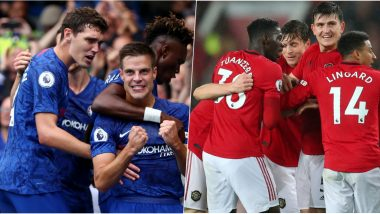 Chelsea vs Manchester United, Carabao Cup 2019–20 Free Live Streaming Online: How to Get EFL Cup Round of 16 Match, CHE vs MUN Live Telecast on TV & Football Score Updates in Indian Time?