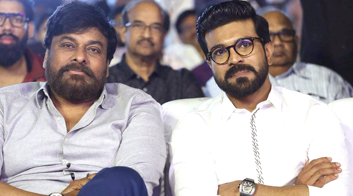 Chiru 152: Megastar Chiranjeevi Once Again Collaborates With Son Ram Charan for His Next Film, Title to Be Announced Soon