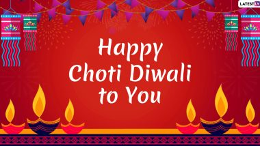 Happy Choti Diwali 2019 Wishes: WhatsApp Stickers, GIF Image Greetings, SMS, Messages and Quotes on Naraka Chaturdashi