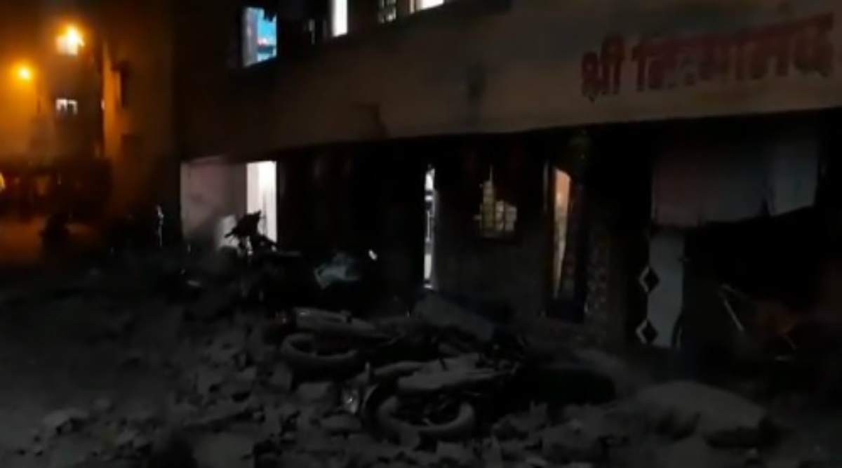 Maharashtra: Portion of 4-Storey Building Collapses in Palghar's Virar; Rescue Operations Underway