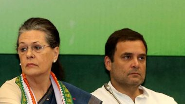 Sonia, Rahul Gandhi to Skip Uddhav Thackeray's Swearing-in Ceremony in Mumbai's Shivaji Park