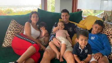 Cristiano Ronaldo Spends Time With Family After Making an Early Exit From Juventus Stadium (See Pics)