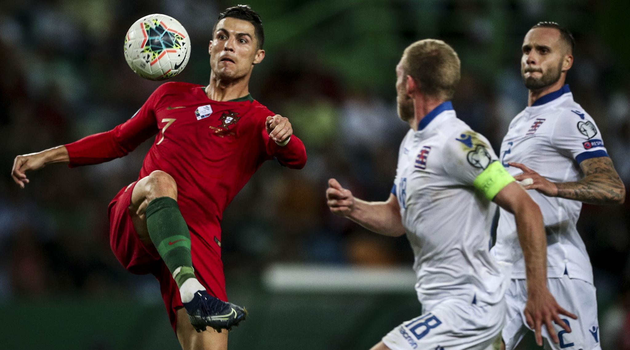 Cristiano Ronaldo Edges Closer to Century of International Goals as Portugal Crush Luxembourg in Euro 2020 Qualifiers