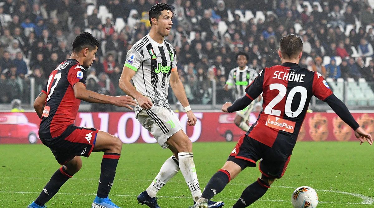 Cristiano Ronaldo Roasted Online for Allegedly Diving to Win Decisive Penalty During Juventus' 2–1 Win Against Genoa in 2019–20 Serie A (Watch Video)