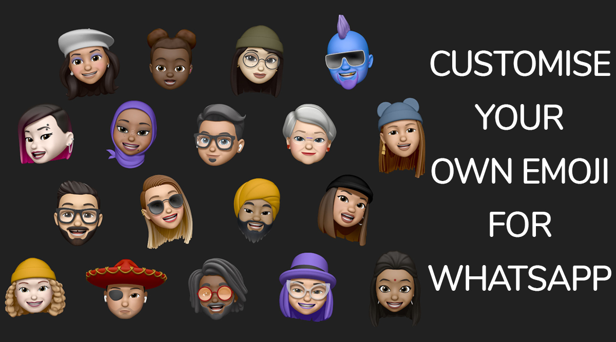 Apple's iOS 13 Update Lets You Customise Emojis for WhatsApp; How To Create Customised Memoji on iPhones