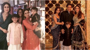Diwali Throwback: From Kareena Kapoor Khan, Taimur Ali Khan to Shah Rukh Khan and His Family, These Festive Pictures Will Make Your Day