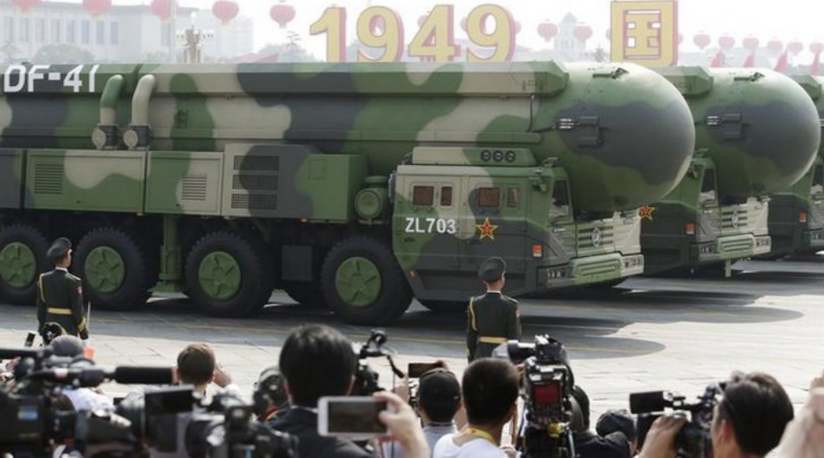 China Debuts DF-41 Missile, Capable of 'Targeting US in 30 Minutes', on National Day