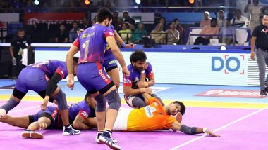 Dabang Delhi vs U Mumba PKL 2019 Match Free Live Streaming and Telecast Details: DD vs MUM, VIVO Pro Kabaddi League Season 7 Clash Online on Hotstar and Star Sports