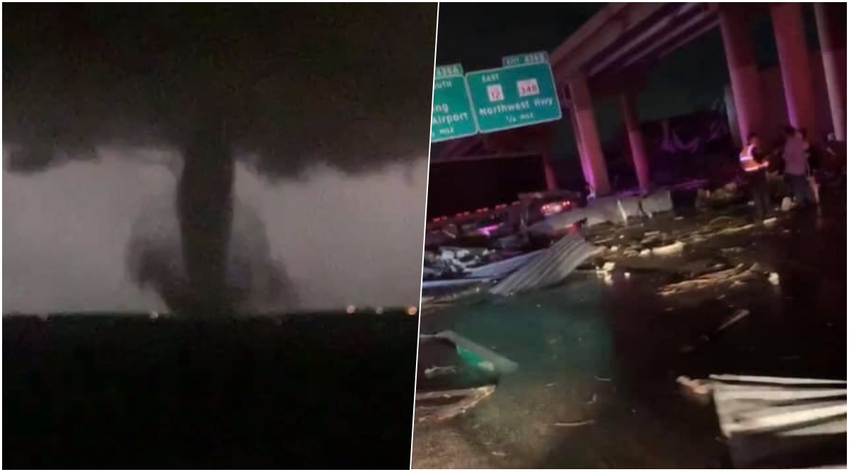 Dallas Tornado Causes Severe Damage, Scary Pics and Videos Show The Intensity of Storm During Touch Down