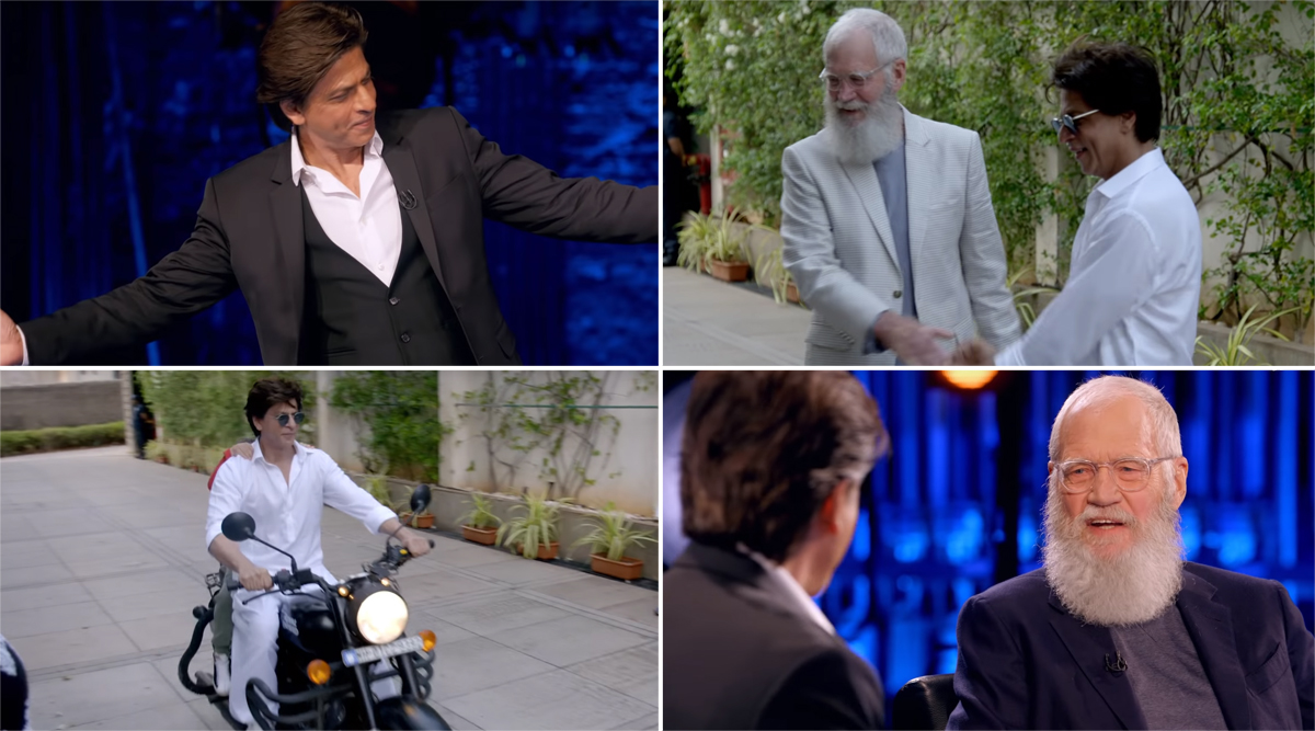 Shah Rukh Khan Gets Longest Ovation on David Letterman's Netflix Show My Next Guest Needs No Introduction (Watch First Promo)