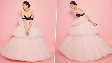 Deepika Padukone Resembles a Disney Princess in her Pink Tulle Gown for the 21st Jio MAMI Film Festival Opening Night (View Pics)
