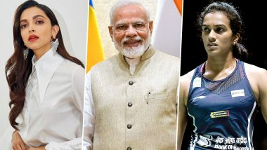Deepika Padukone and PV Sindhu Become the Face of PM Modi's #BharatKiLaxmi Campaign (Watch Video)