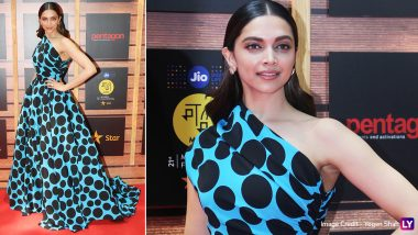 Deepika Padukone Looks Like a Modern-Day Cindrella in a Polka Dot Gown at MAMI 2019 (View Pics)